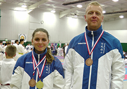 medallists at JKS England Open