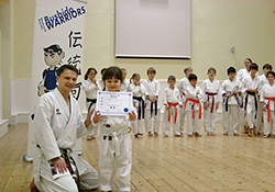 Junior Warriors course