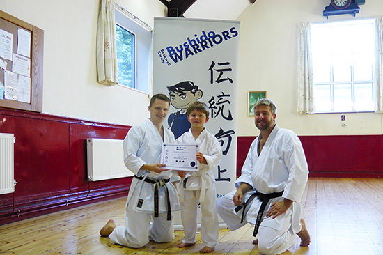 Congratulations to our Backwell Karate Bushido Warriors