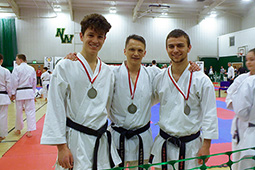 Silver for Backwell team at JKS England Open