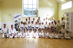 Special training and grading with Sensei Brennan