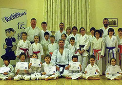 Backwell's latest Junior Warriors complete course