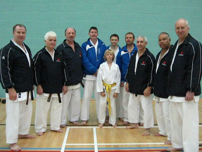 Club members with senior KUGB instructors